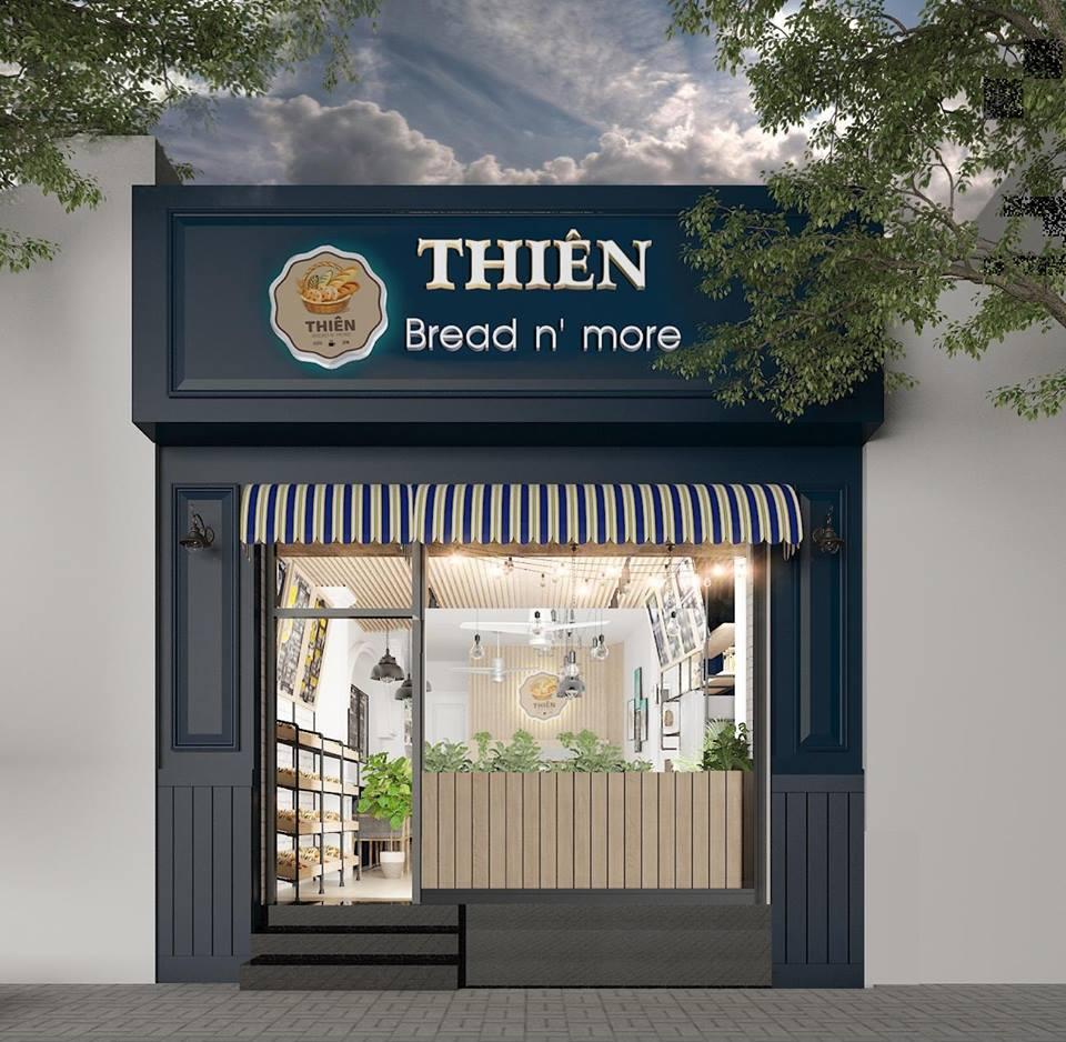 Thiên - Bread n' more - Thu hút khách hàng với phong cách trẻ trung hiện đại thiet ke tiem banh cafe tai Thu Duc 1