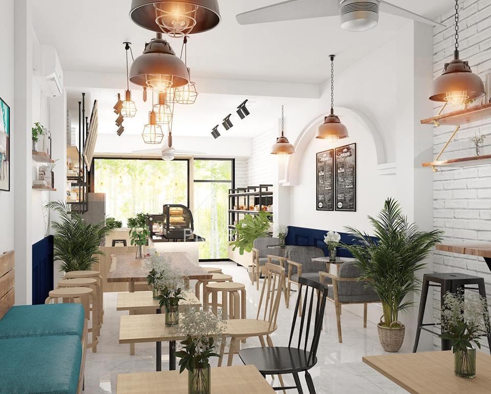 Dự án đã thực hiện thiet ke tiem banh cafe tai Thu Duc 2