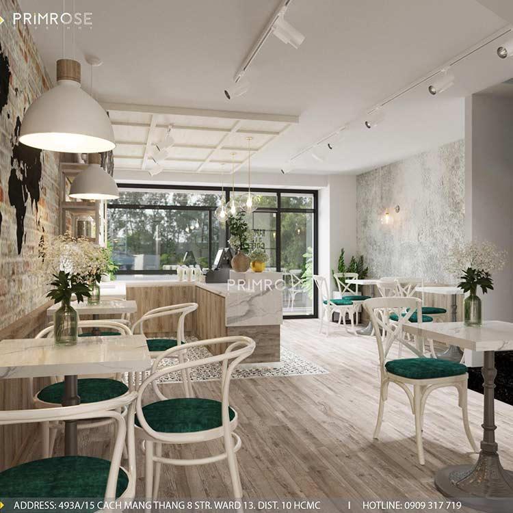 Trân Kỳ Cafe - Quán cafe phong cách Châu Âu sang trọng thiet ke quan cafe hien dai Chau Au 1