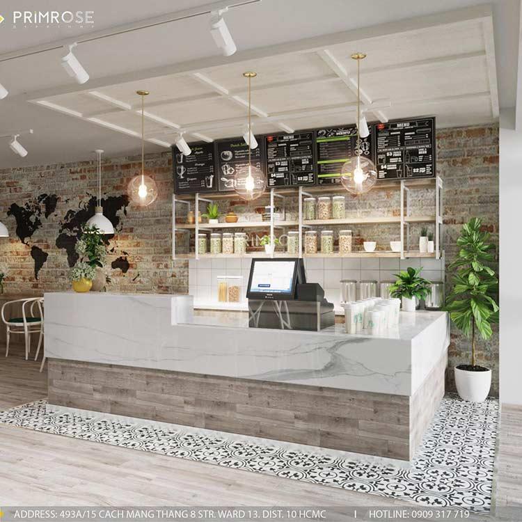 Trân Kỳ Cafe - Quán cafe phong cách Châu Âu sang trọng thiet ke quan cafe hien dai Chau Au 2