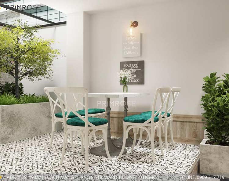 Trân Kỳ Cafe - Quán cafe phong cách Châu Âu sang trọng thiet ke quan cafe hien dai Chau Au 3