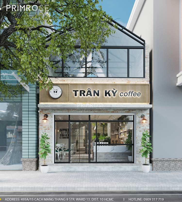 Trân Kỳ Cafe - Quán cafe phong cách Châu Âu sang trọng thiet ke quan cafe hien dai Chau Au 4