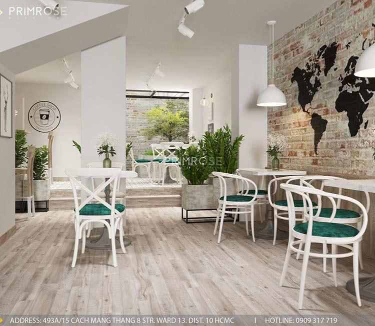 Trân Kỳ Cafe - Quán cafe phong cách Châu Âu sang trọng thiet ke quan cafe hien dai Chau Au 5