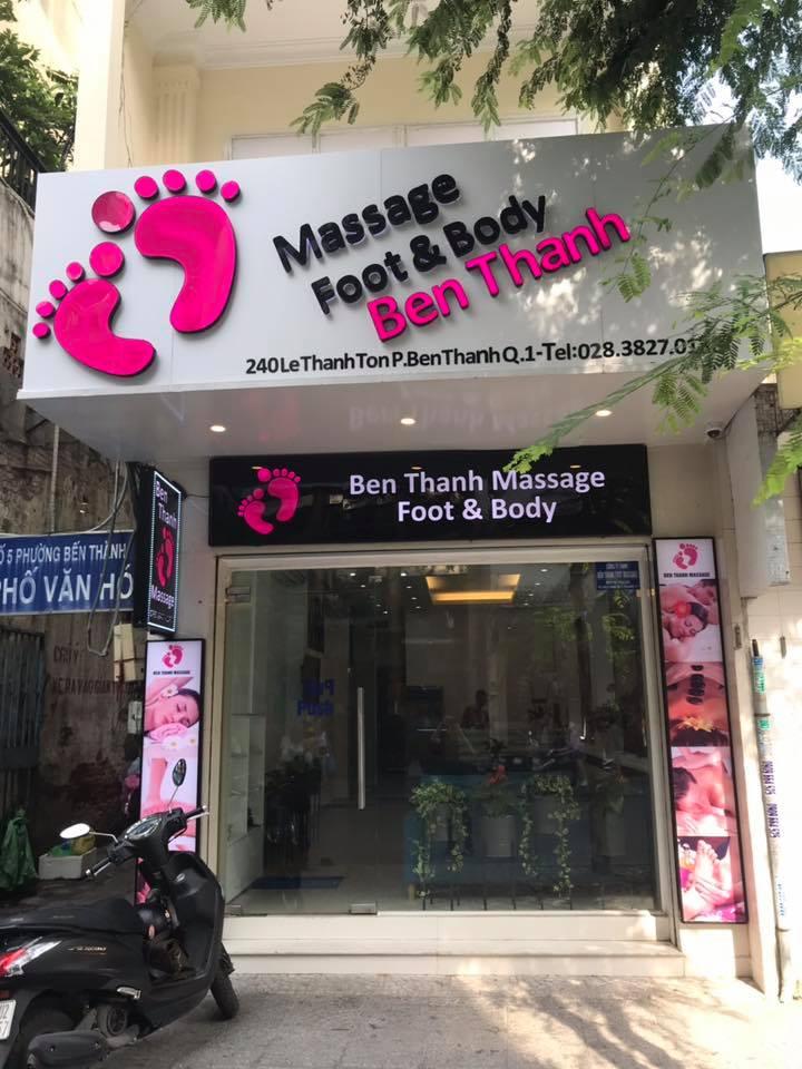 Massage Foot & Body Bến Thành - Quận 1 thi cong noi Spa 4