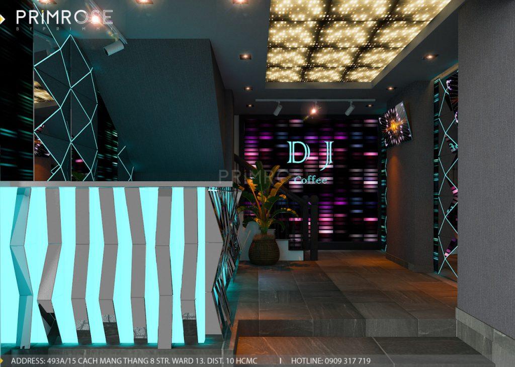Cafe DJ - Nguyễn Doãn Thanh, Quận 10, HCM thiet ke noi that Cafe DJ 7