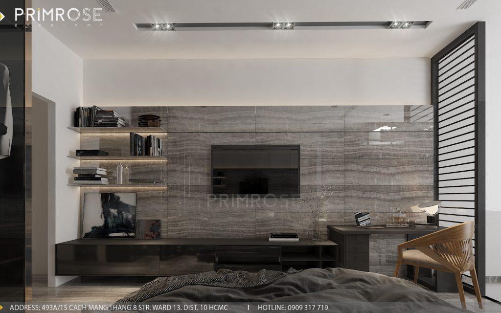 Thiết kế nội thất nhà phố hiện đại thiet ke noi that nha pho 3