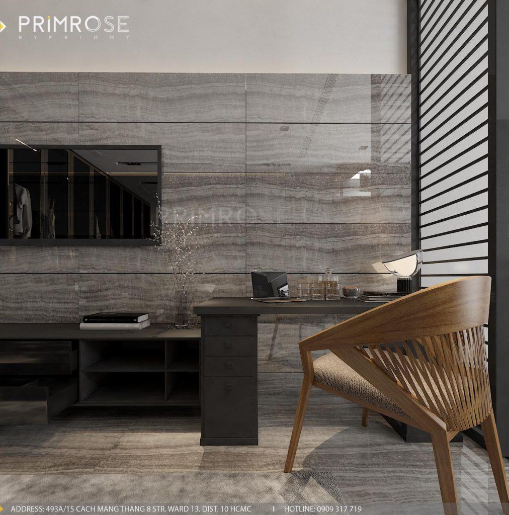 Thiết kế nội thất nhà phố hiện đại thiet ke noi that nha pho 4