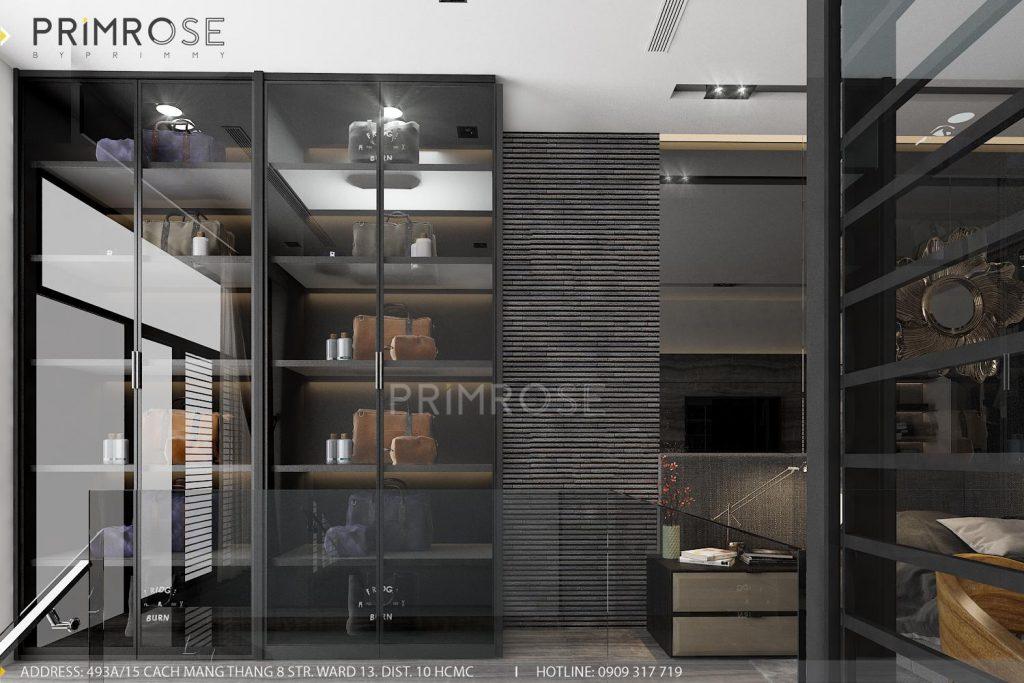 Thiết kế nội thất nhà phố hiện đại thiet ke noi that nha pho 6