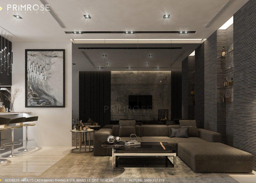 Thiết kế nội thất nhà phố hiện đại thiet ke noi that nha pho 8
