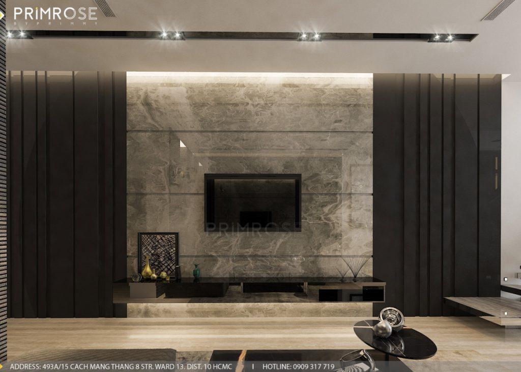 Thiết kế nội thất nhà phố hiện đại thiet ke noi that nha pho 9