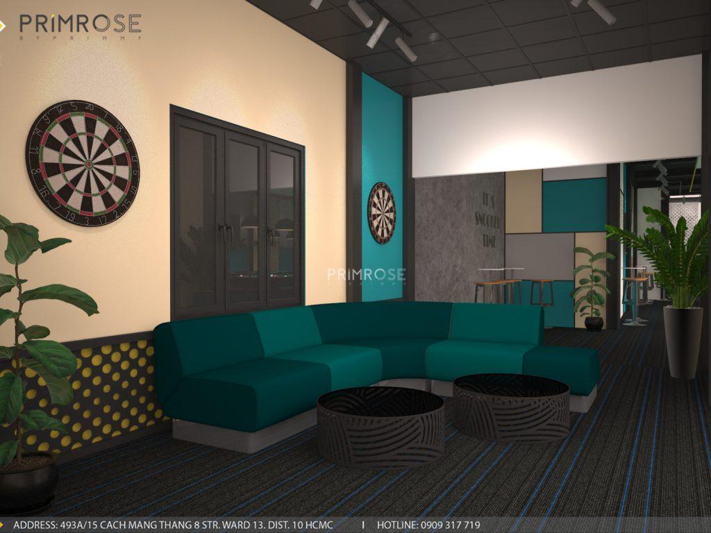 Thiết kế nội thất câu lạc bộ bida 44 - Nguyễn Đình Chiểu, Quận 3 thiet ke noi that quan bida 3