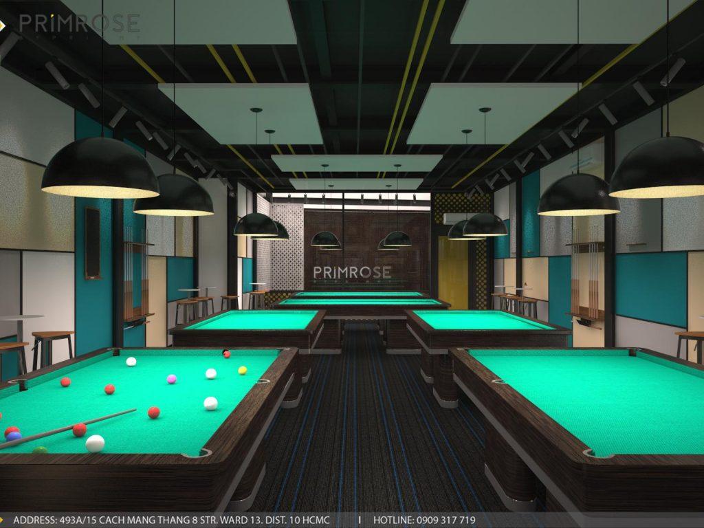Thiết kế nội thất câu lạc bộ bida 44 - Nguyễn Đình Chiểu, Quận 3 thiet ke noi that quan bida 5