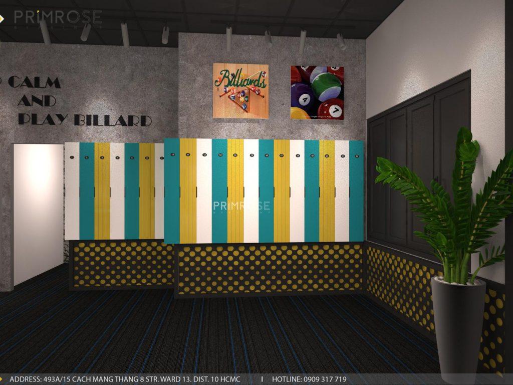 Thiết kế nội thất câu lạc bộ bida 44 - Nguyễn Đình Chiểu, Quận 3 thiet ke noi that quan bida 8