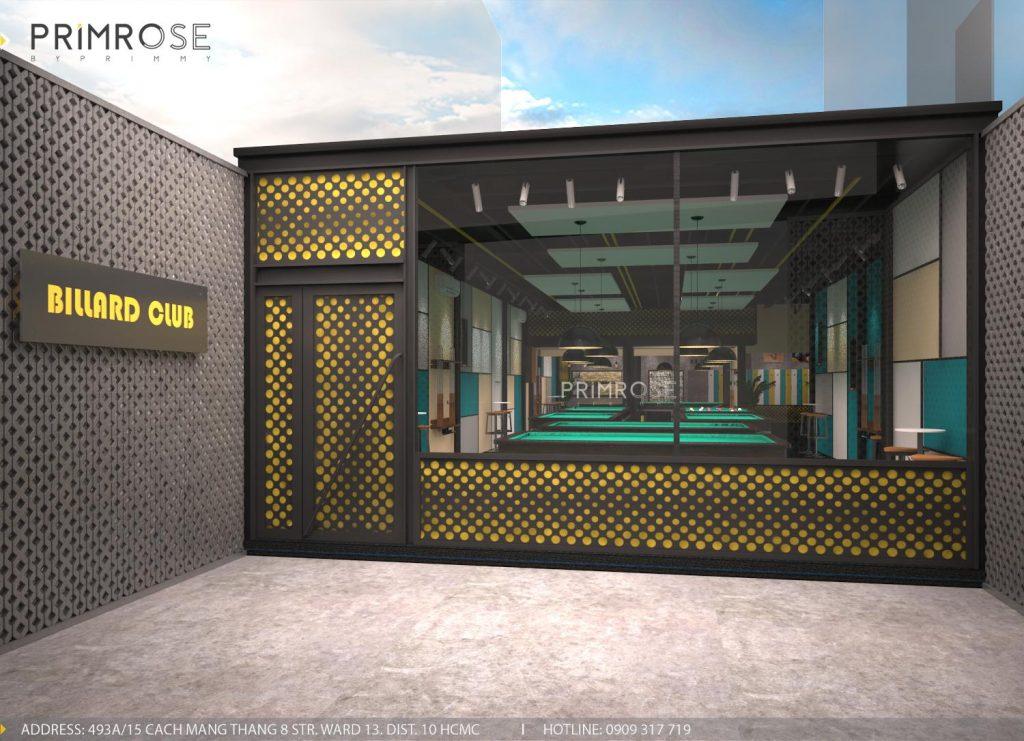 Thiết kế nội thất câu lạc bộ bida 44 - Nguyễn Đình Chiểu, Quận 3 thiet ke noi that quan bida 9