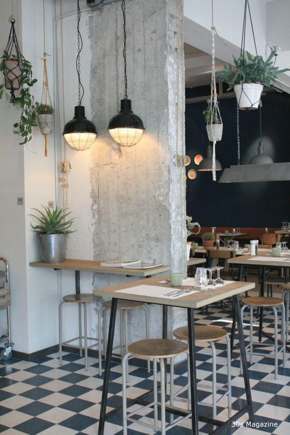 Phong cách công nghiệp trong thiết kế nội thất quán cafe thiet ke thi cong noi that quan cong nghiep 1
