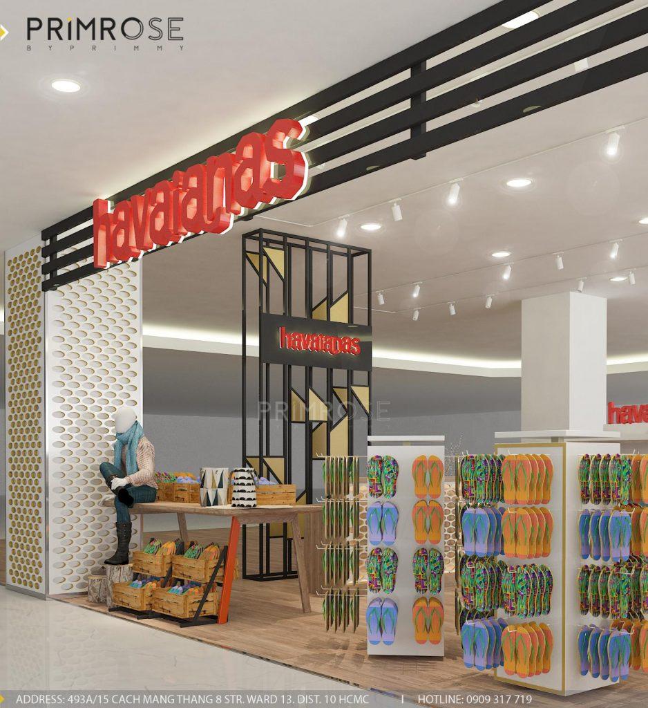 Havaianas - Không gian shop thời trang giày dép nổi bật với tông màu trẻ trung z1166300088986 9e3e53f5518d26fb2d5c446ccdd60d91