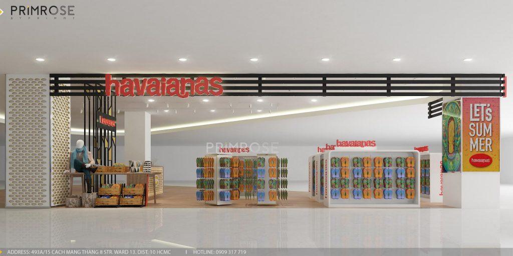 Havaianas - Không gian shop thời trang giày dép nổi bật với tông màu trẻ trung z1166300088992 dc1041168f8f92471ae3ce9775b3a4c3