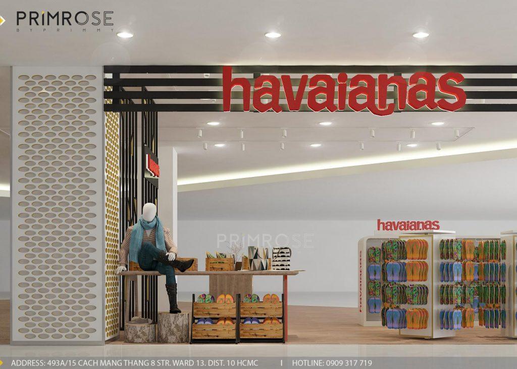 Havaianas - Không gian shop thời trang giày dép nổi bật với tông màu trẻ trung z1166300090532 97d5513f3aa0ae0b43948d86ee20b301