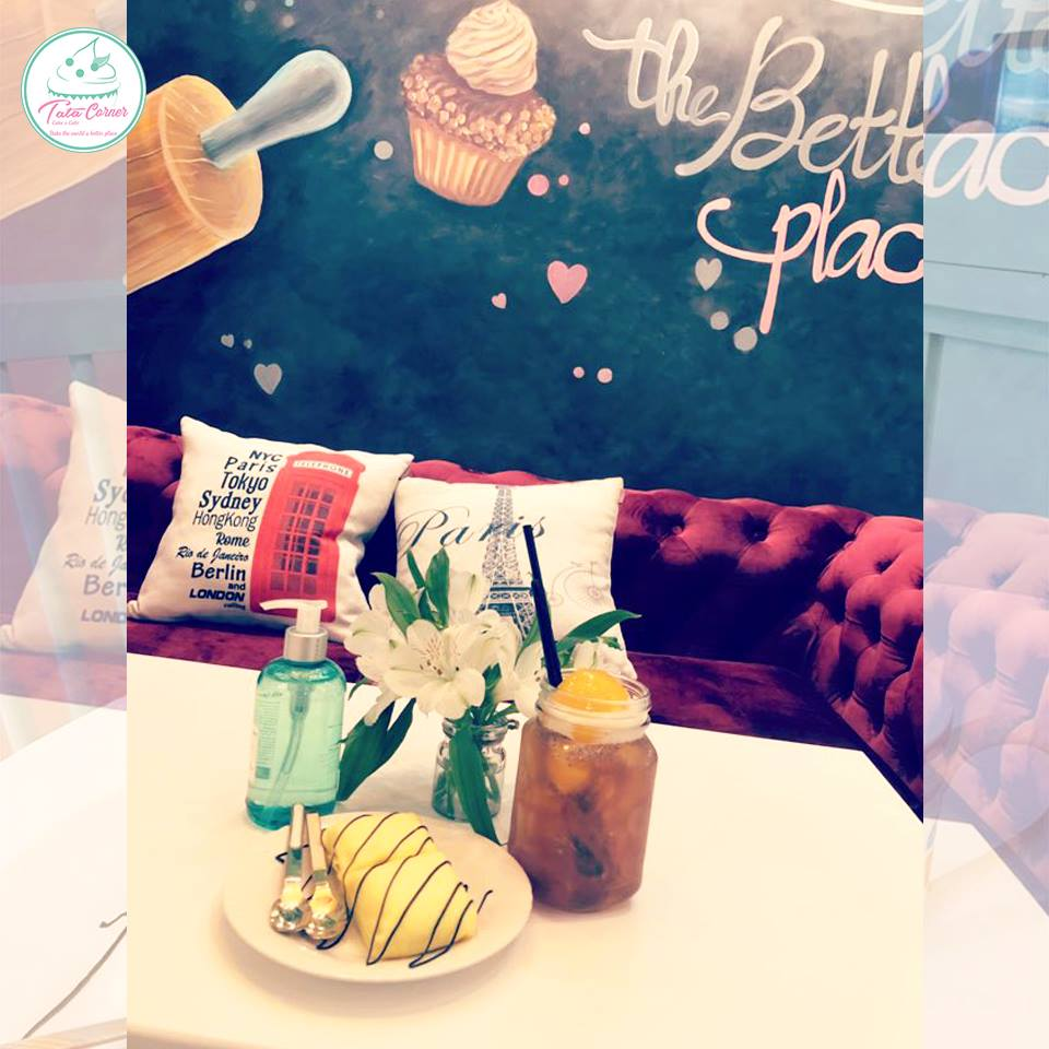 TATA Corner - tiệm cà phê bánh với không gian Pastel siêu cute và ngọt ngào 47093745 979136922297563 734031566111506432 n