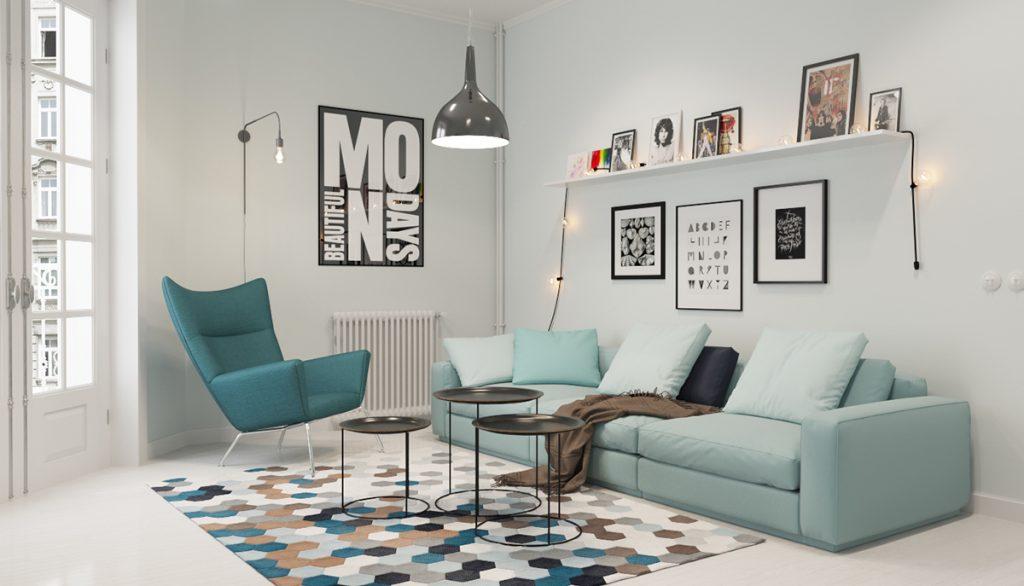 Dự án Scandinavian Living Room Ideas