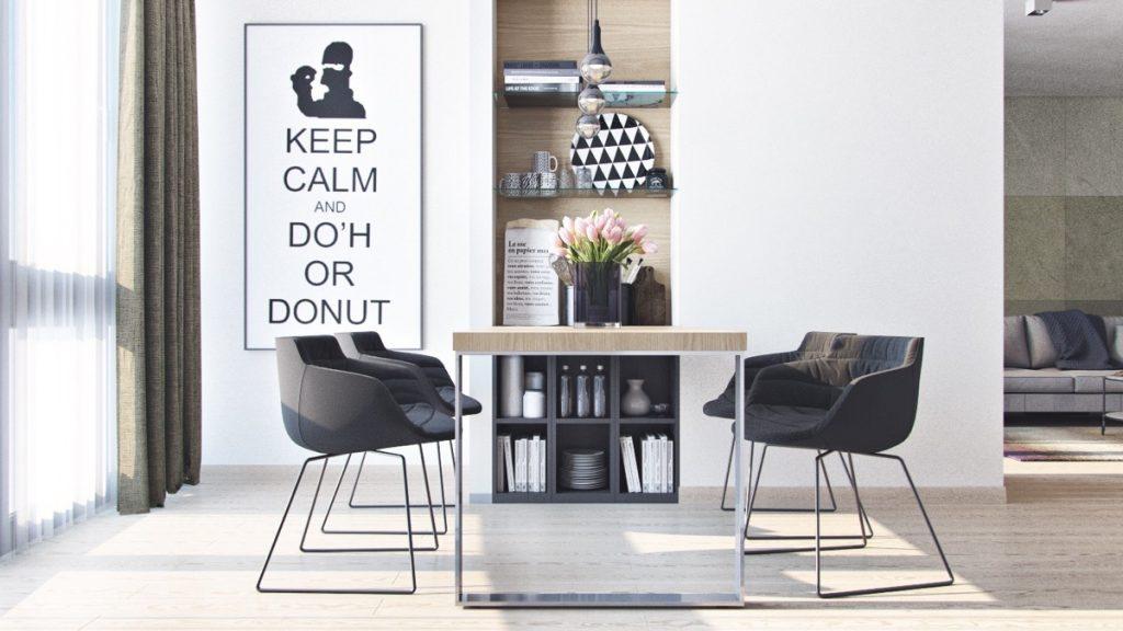 Thiết kế thi công nội thất chung cư hiện đại thiet ke can ho hien dai 1