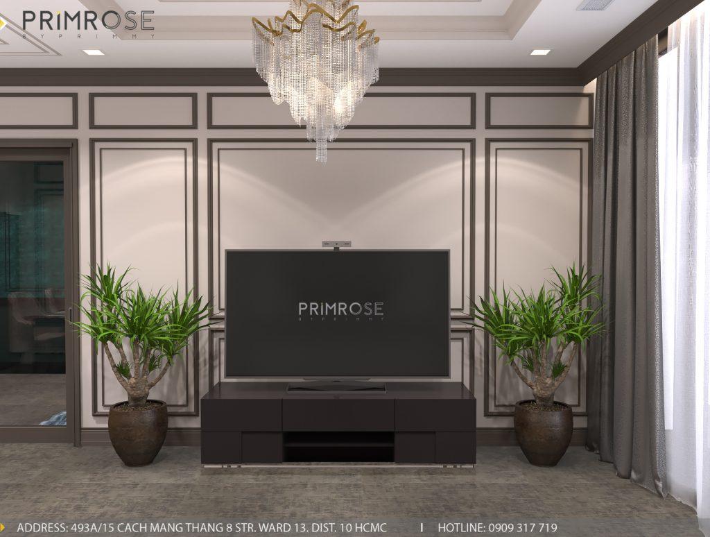 Thiết kế nội thất Tân Cổ Điển căn hộ Landmark 81 Vinhomes Central Park thiet ke can ho tan co dien 1
