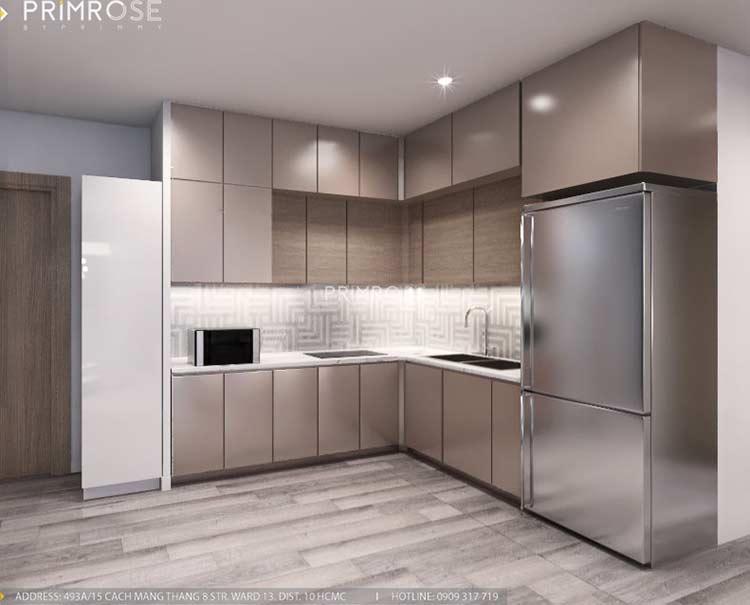 Thiết kế nội thất căn hộ Sunrise Riverside với 2 phòng ngủ thiet ke noi that can ho 65m2 phong cach hien dai 4