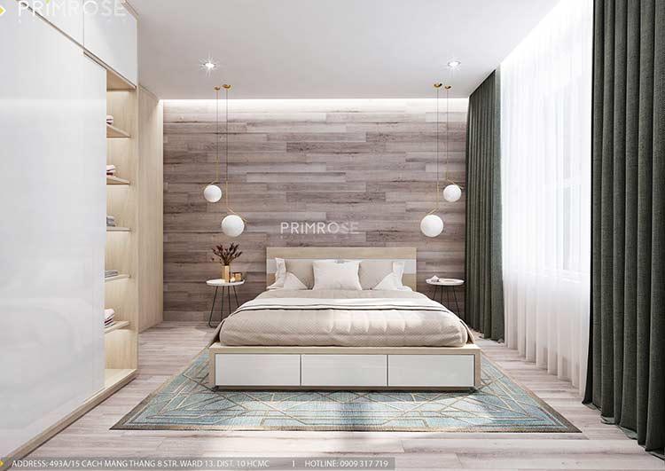 Thiết kế nội thất căn hộ Sunrise Riverside với 2 phòng ngủ thiet ke noi that can ho 65m2 phong cach hien dai 7