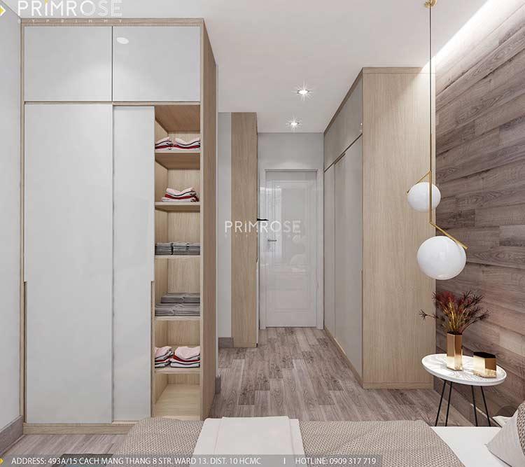 Thiết kế nội thất căn hộ Sunrise Riverside với 2 phòng ngủ thiet ke noi that can ho 65m2 phong cach hien dai 8