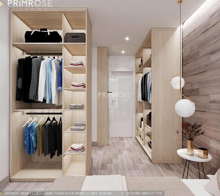 Thiết kế nội thất căn hộ Sunrise Riverside với 2 phòng ngủ thiet ke noi that can ho 65m2 phong cach hien dai 9