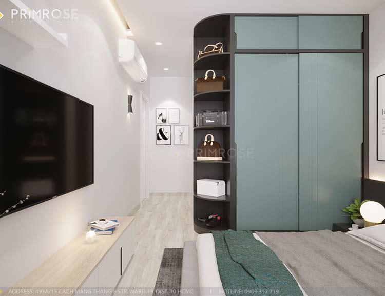 Căn hộ Everrich An Dương Vương 73m², thiết kế 2 phòng ngủ thiet ke noi that can ho hien dai dep 5
