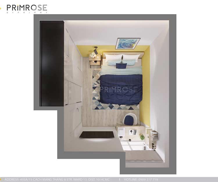 Căn hộ Everrich An Dương Vương 73m², thiết kế 2 phòng ngủ thiet ke noi that can ho hien dai dep 8