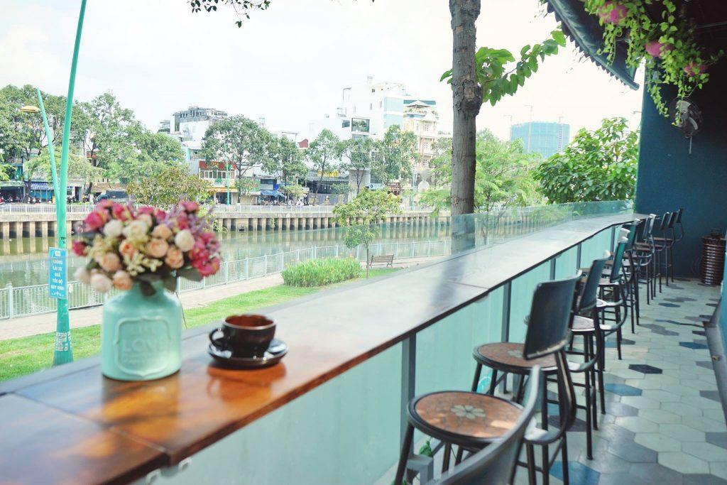 Dịch vụ thiet ke quan cafe Coffee ville 2