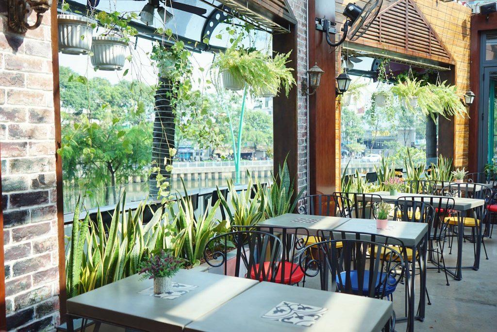 CoffeeVille - Điểm sống ảo view cực chất cho giới trẻ Sài Thành thiet ke quan cafe Coffee ville 3