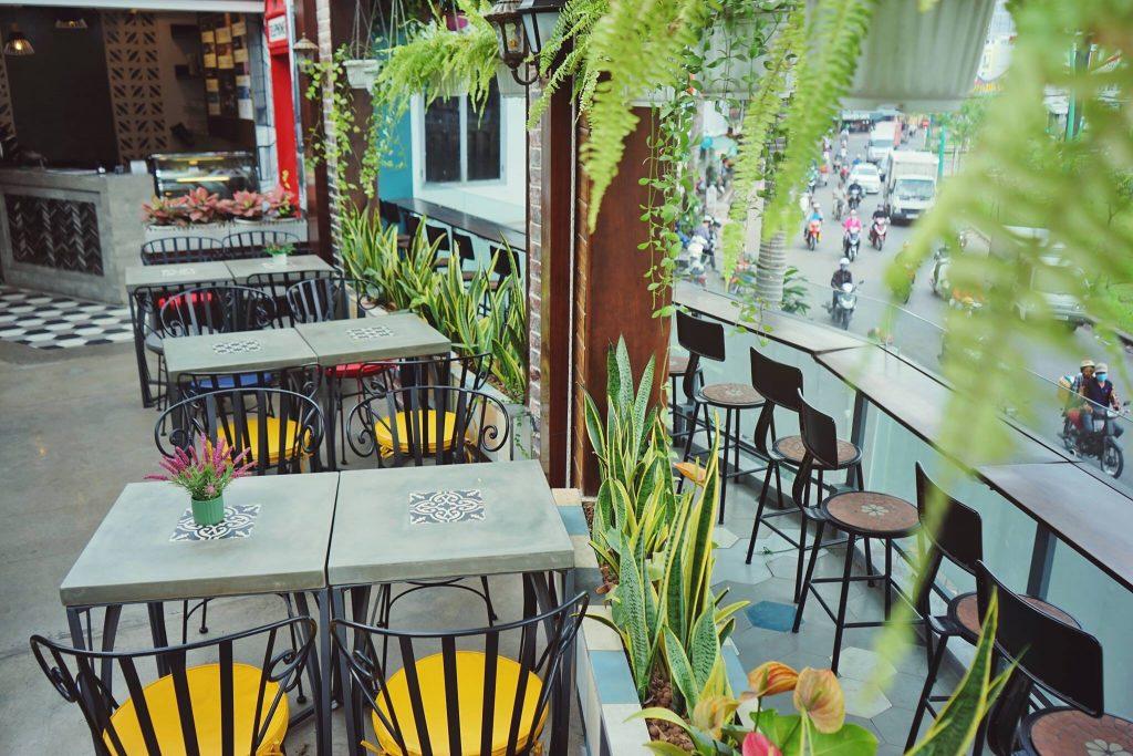CoffeeVille - Điểm sống ảo view cực chất cho giới trẻ Sài Thành thiet ke quan cafe Coffee ville 5
