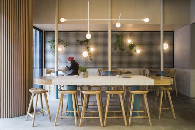 Thiết kế thi công nội thất quán cafe thiet ke quan cafe dep 4
