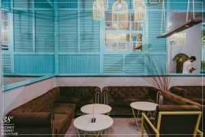 38 Flower Market Tea House - Mô hình kinh doanh độc đáo của Starup nổi tiếng thiet ke quan cafe tea flower 1