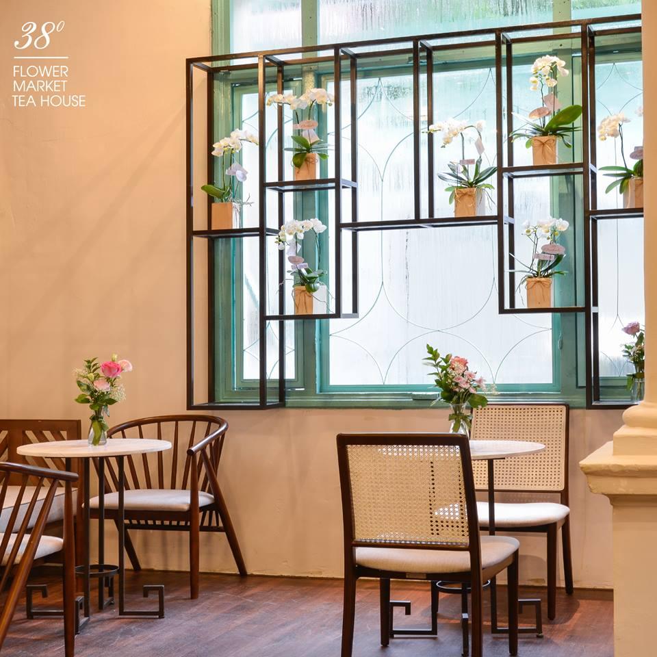 38 Flower Market Tea House - Mô hình kinh doanh độc đáo của Starup nổi tiếng thiet ke quan cafe tea flower 10