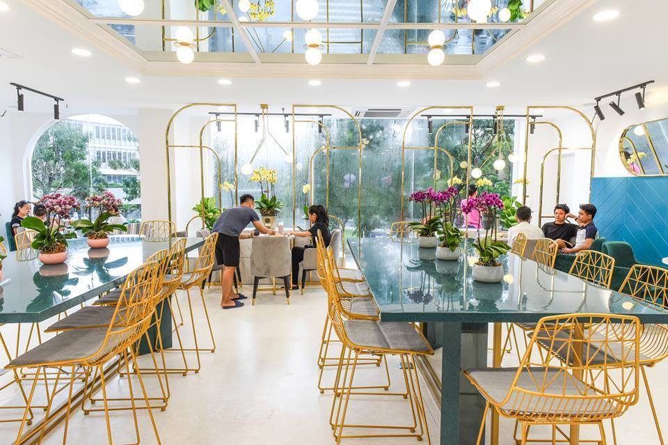 38 Flower Market Tea House - Mô hình kinh doanh độc đáo của Starup nổi tiếng thiet ke quan cafe tea flower 11