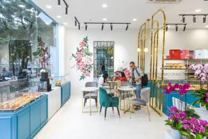 38 Flower Market Tea House - Mô hình kinh doanh độc đáo của Starup nổi tiếng thiet ke quan cafe tea flower 2