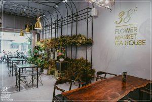38 Flower Market Tea House - Mô hình kinh doanh độc đáo của Starup nổi tiếng thiet ke quan cafe tea flower 4