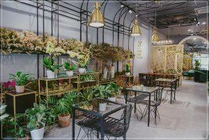 38 Flower Market Tea House - Mô hình kinh doanh độc đáo của Starup nổi tiếng thiet ke quan cafe tea flower 5