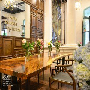 38 Flower Market Tea House - Mô hình kinh doanh độc đáo của Starup nổi tiếng thiet ke quan cafe tea flower 9