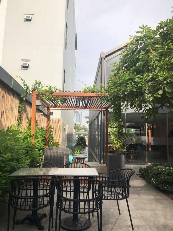 LALA Coffee&Tea - Ốc đảo xanh giữa lòng thành phố thiet ke thi cong quan cafe dep 10