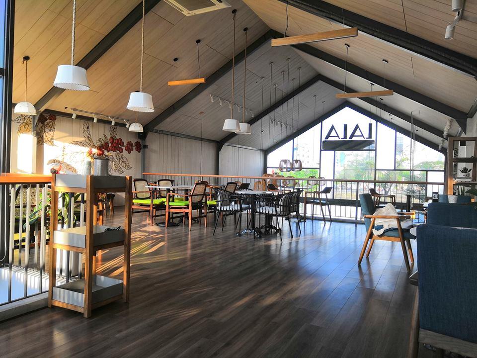 LALA Coffee&Tea - Ốc đảo xanh giữa lòng thành phố thiet ke thi cong quan cafe dep 11