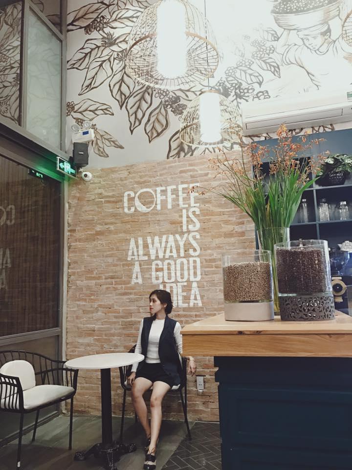 LALA Coffee&Tea - Ốc đảo xanh giữa lòng thành phố thiet ke thi cong quan cafe dep 13