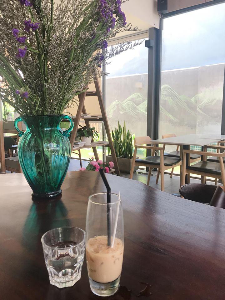 LALA Coffee&Tea - Ốc đảo xanh giữa lòng thành phố thiet ke thi cong quan cafe dep 15