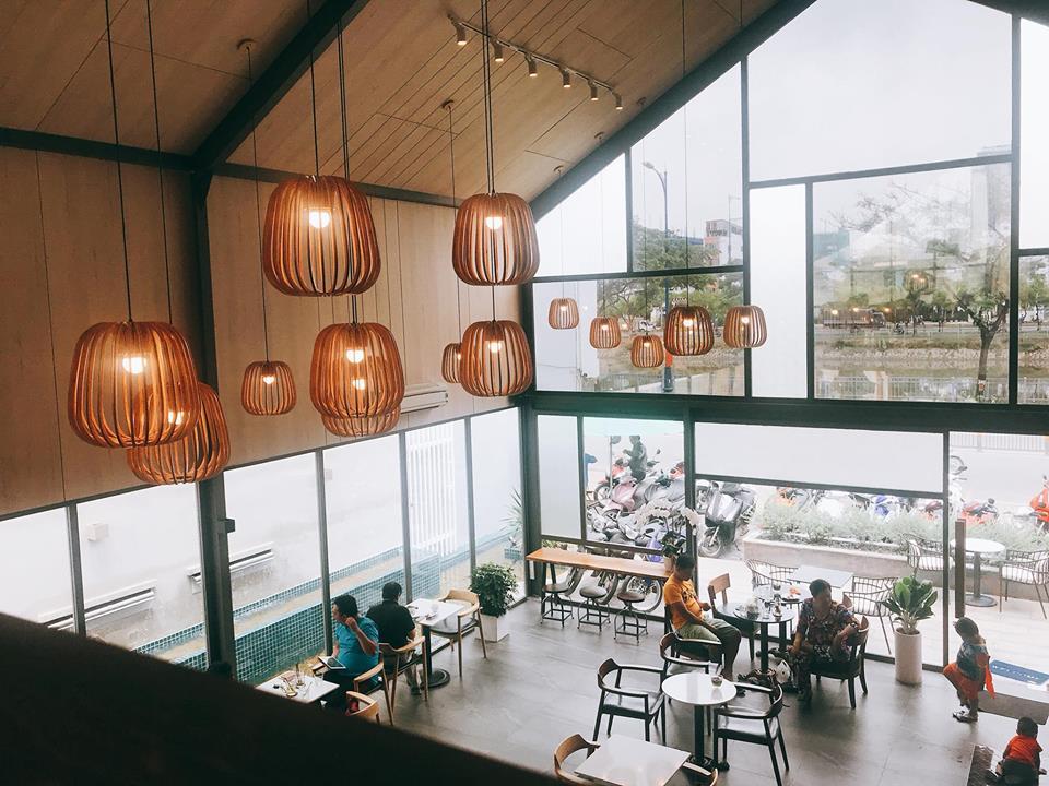 LALA Coffee&Tea - Ốc đảo xanh giữa lòng thành phố thiet ke thi cong quan cafe dep 16