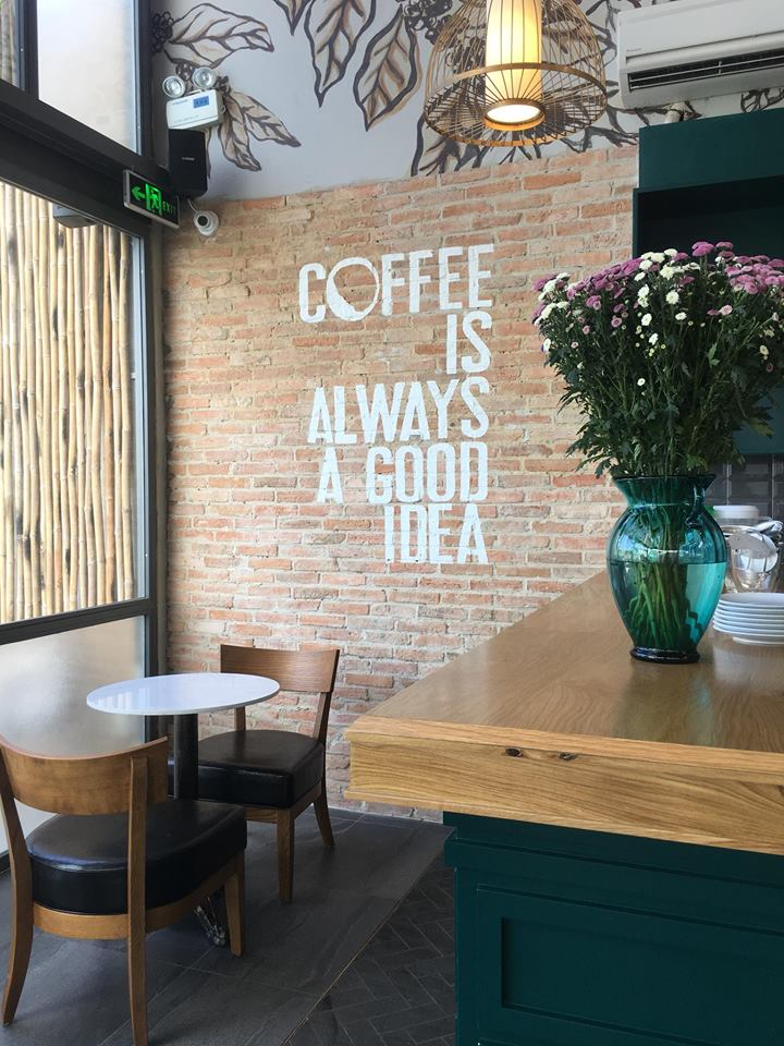 LALA Coffee&Tea - Ốc đảo xanh giữa lòng thành phố thiet ke thi cong quan cafe dep 8