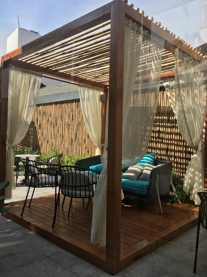 LALA Coffee&Tea - Ốc đảo xanh giữa lòng thành phố thiet ke thi cong quan cafe dep 9